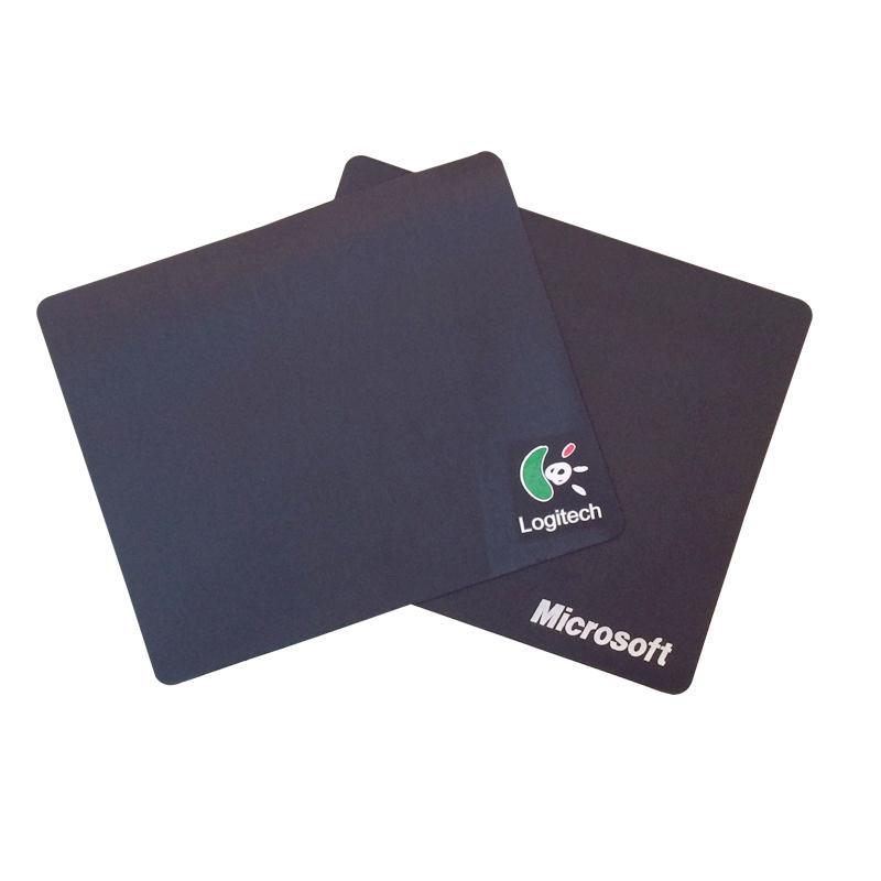 国产鼠标垫 印罗技LOGO 黑色(20*24cm)