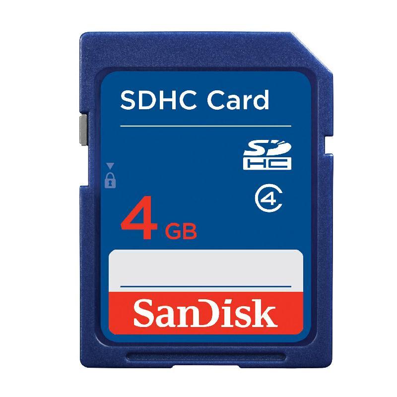 闪迪Class4 SD卡 4G