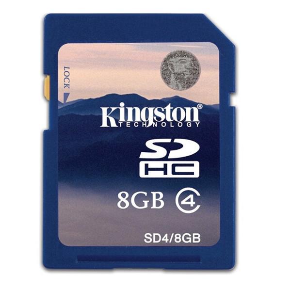 金士顿 class10 8G SD存储卡