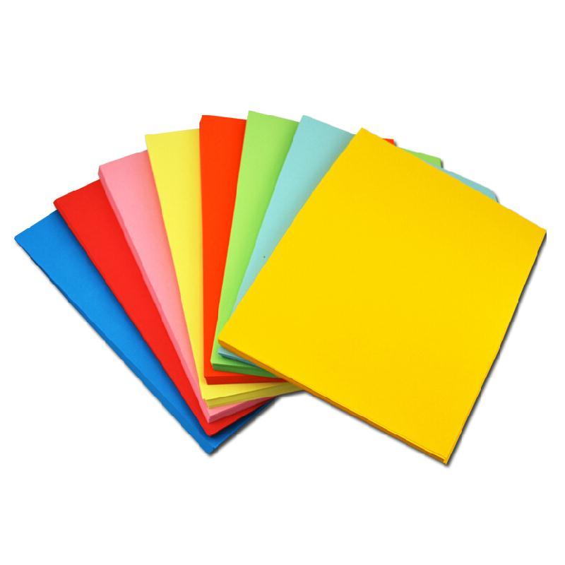 领先未来 彩色复印纸 A4 80G 100张/包 黄