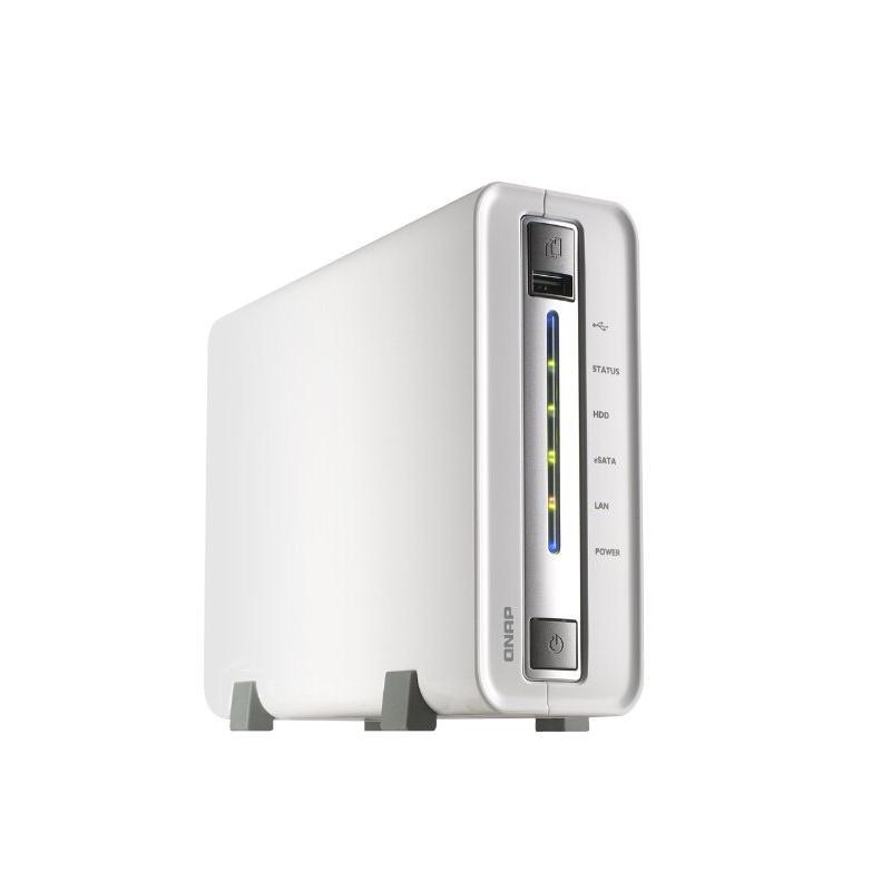 威联通 TS-112升级版 NAS单盘位网络存储 1.6GHz 512MB USB3.0