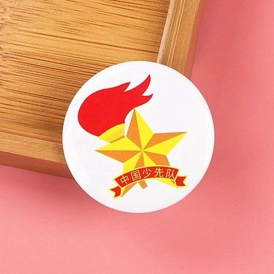 > 国产中国少先队队徽