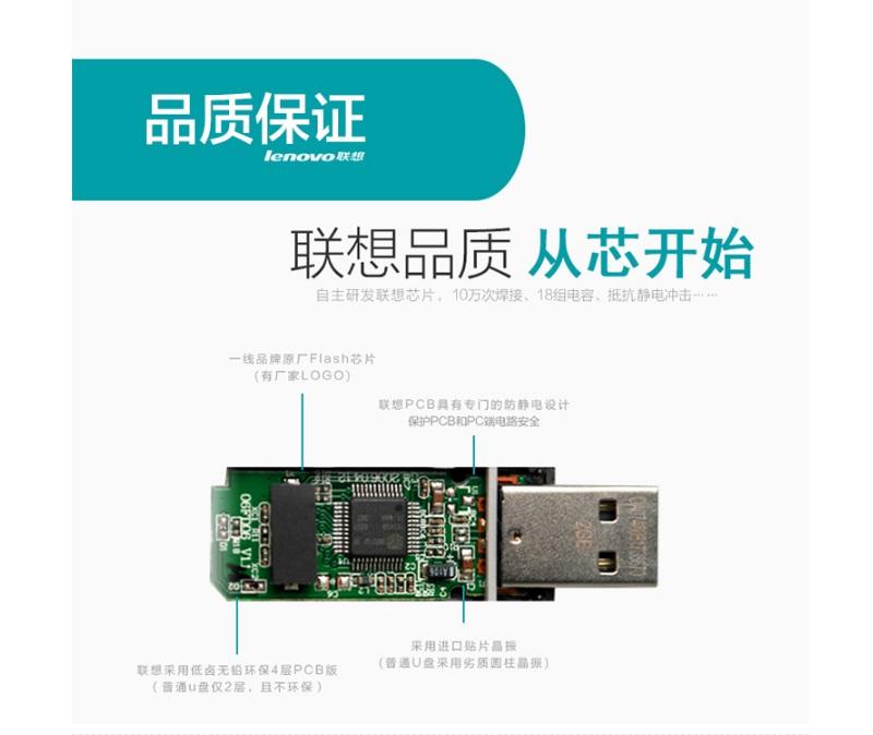联想t180 64g usb3.0商务高速u盘