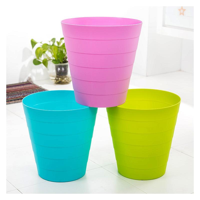> 飞达三和 竹节垃圾桶 创意可爱竹节纹桌面垃圾桶杂物收纳桶 迷你