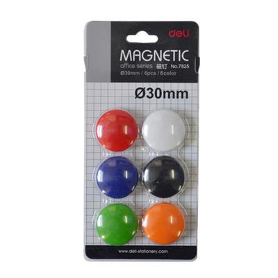 磁粒 磁贴 磁扣白板用磁粒30mm 6个装