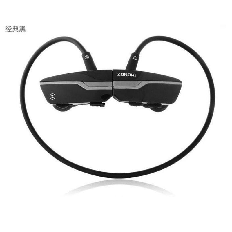中锘基(ZONOKI)B97 头戴式运动蓝牙耳机无线双耳麦立体声音乐耳机 黑色