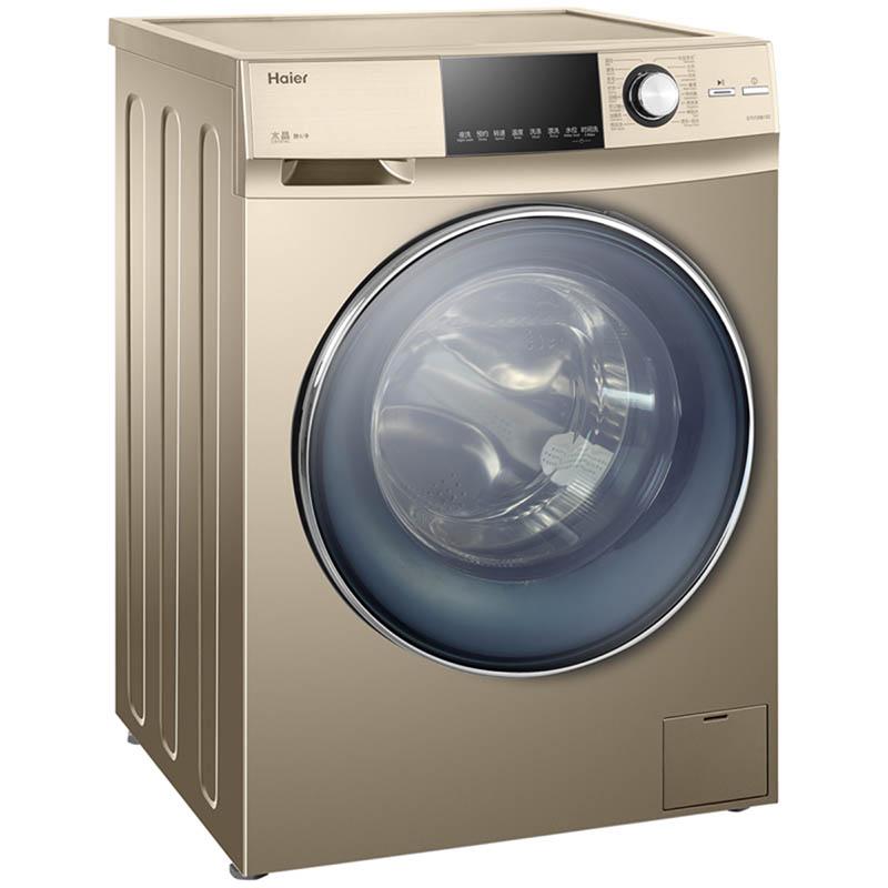 海尔g80728bx12g 滚筒式全自动洗衣机8kg