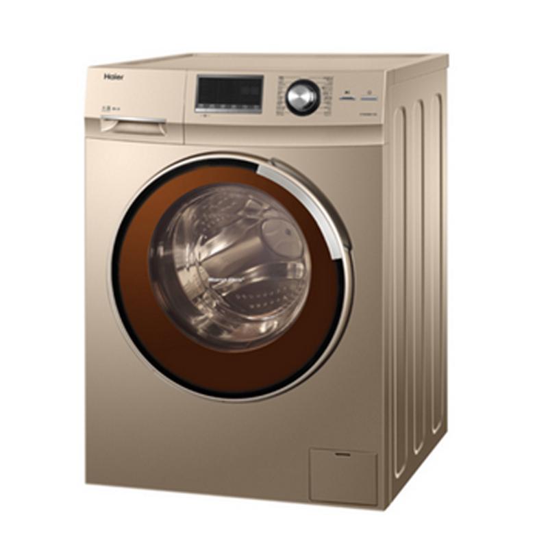 海尔g90658bx12g 滚筒式全自动洗衣机9kg
