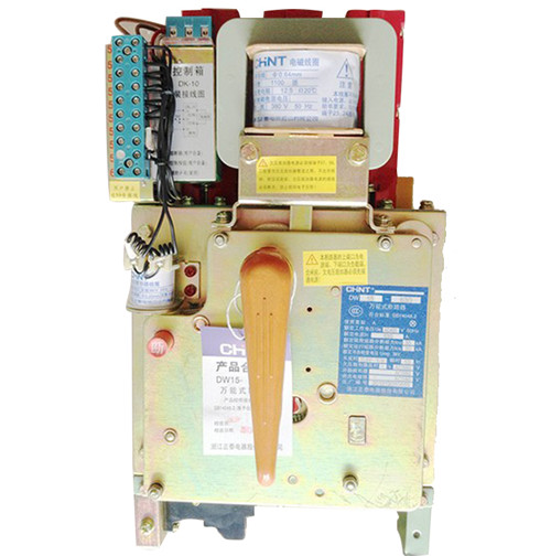 > 正泰电器dw15系列万能断路器dw15-630a 热电磁式电动