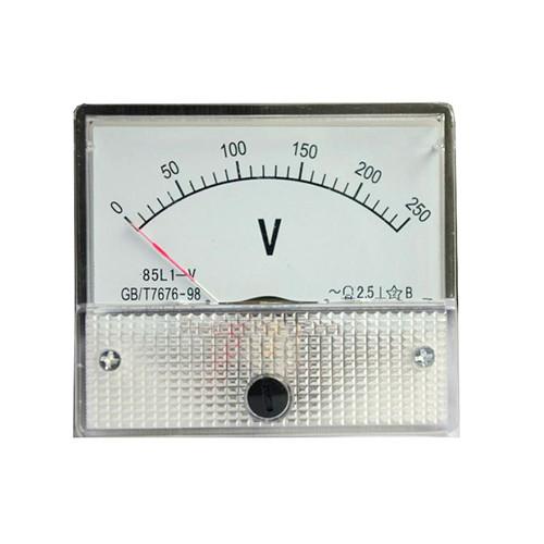 > 正泰电器安装式电流电压表85l1-a-v 开孔55*50