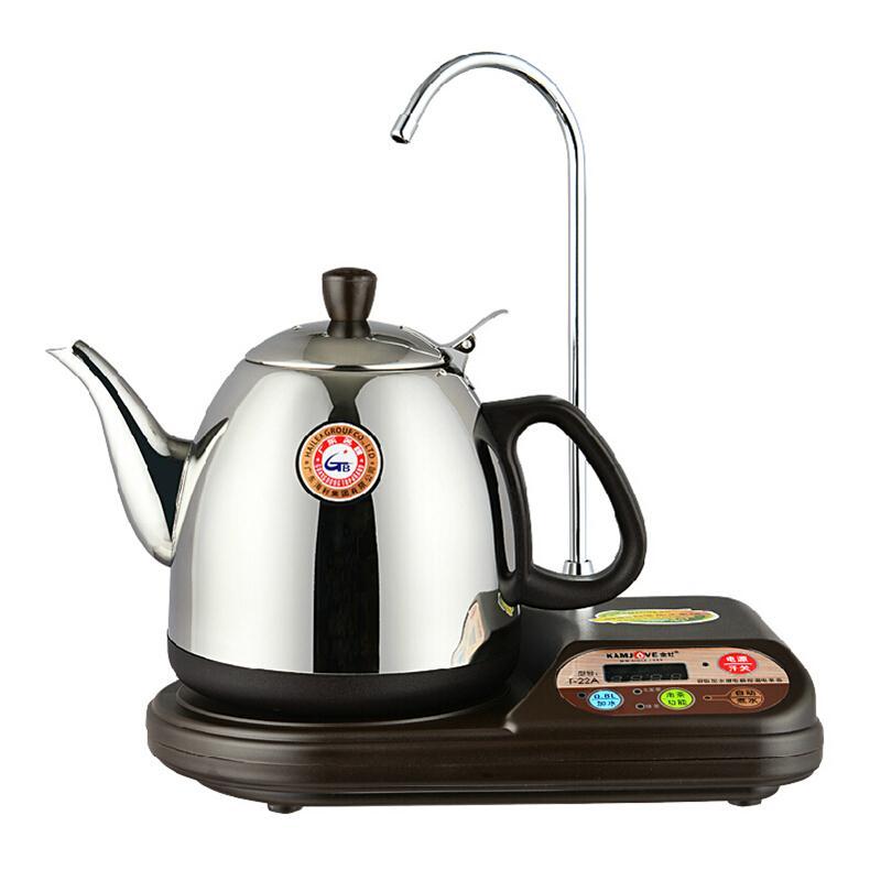 金灶 t-22a 自吸式电热水壶茶具套装