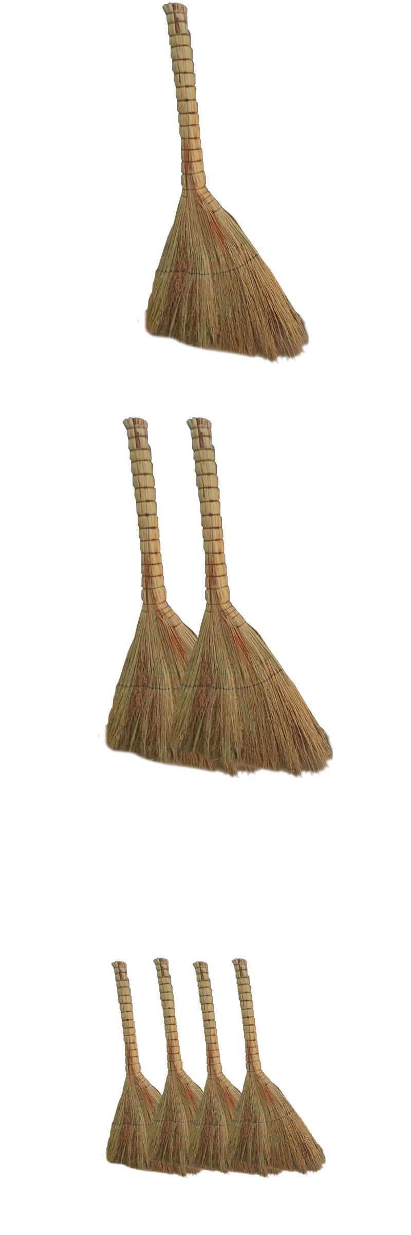 生活用品 清洁工具 扫把/拖把  1/1 国产 老式米子条帚 38*80cm 加厚