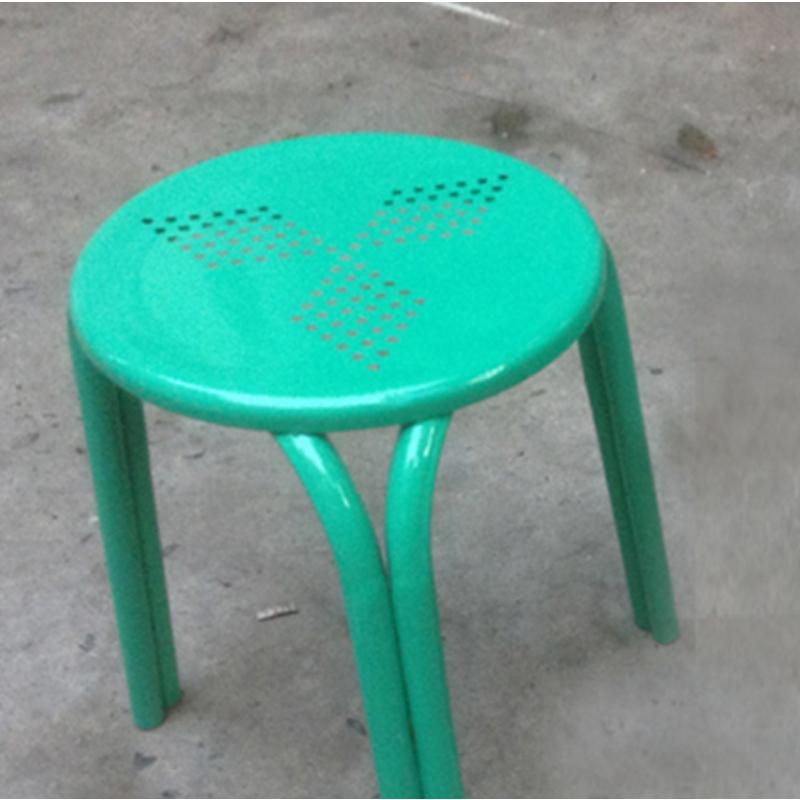 国产圆凳 铁凳子 27*29cm 颜色随机