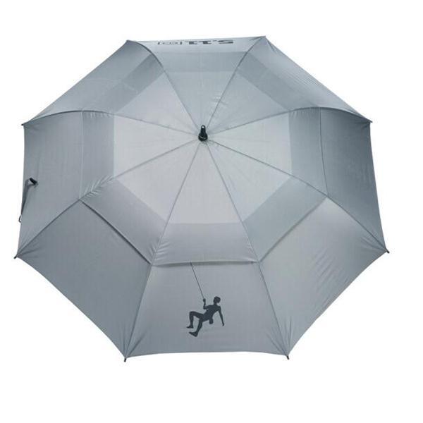 宝丽姿 511 晴雨伞 双层透气型 纤维骨直杆 长约99.5CM 黑色