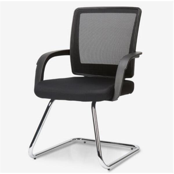 联丰 DS-126D 弓形椅 网布 黑色 W57*D56.5*H90cm