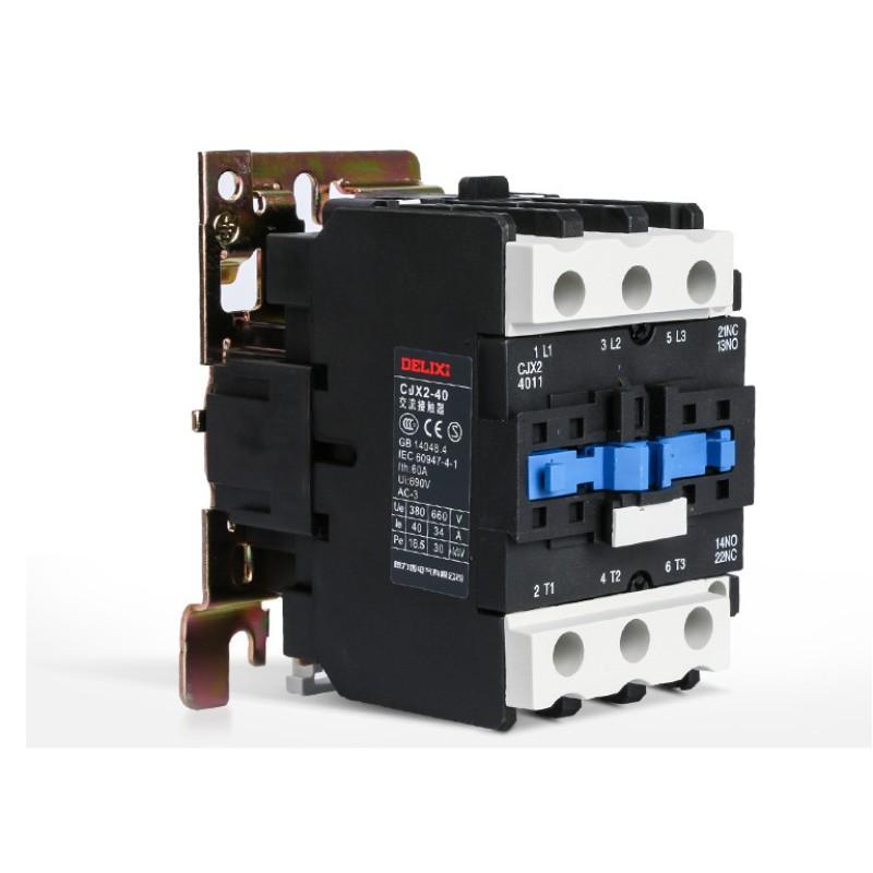 德力西 CJX2-4011 交流接触器 线圈电压220v