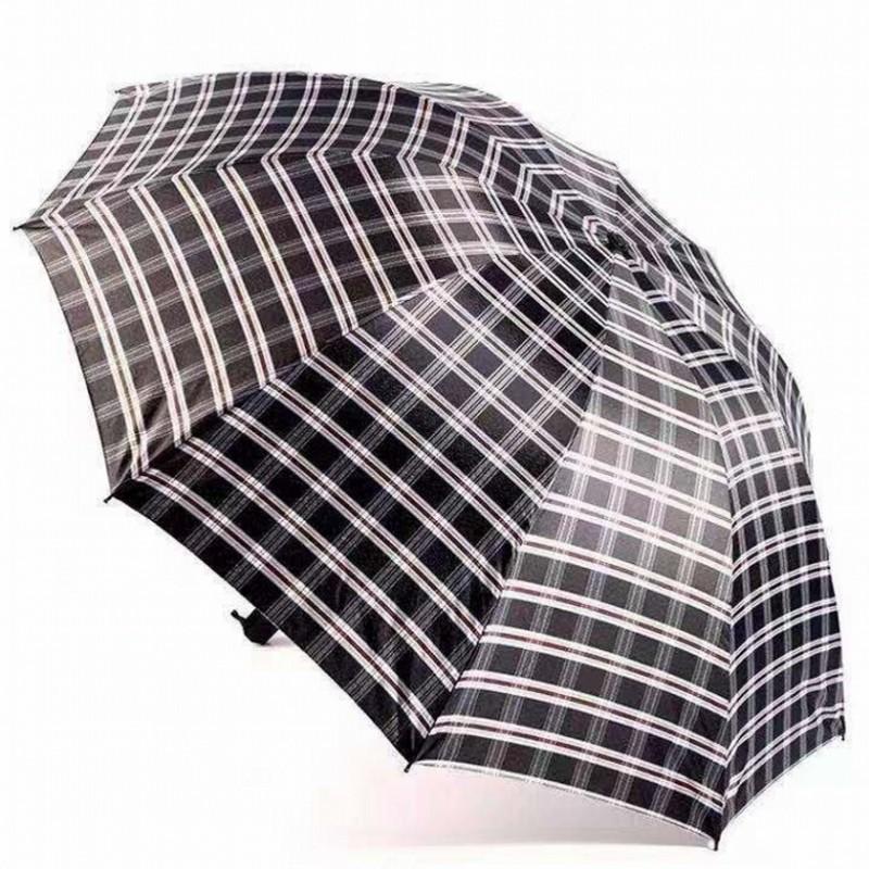 宝丽姿 319T 三折格子遮阳伞(计价单位:把)