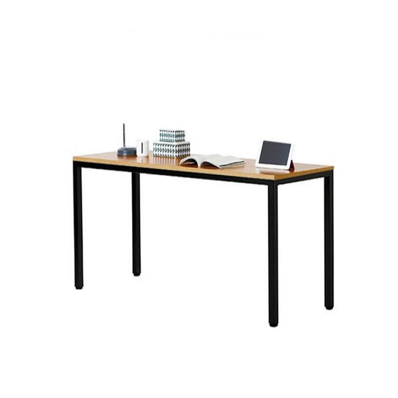尼德 AC3BB 会议培训办公桌子 柚木面黑框架 140*60*74.3cm 1.4米