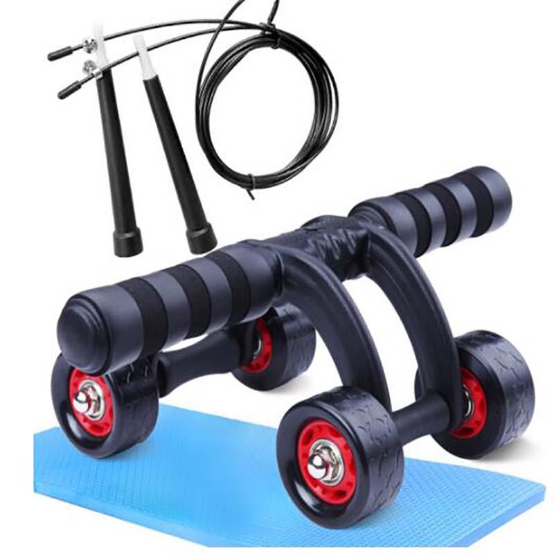 凯速 PR33 健腹器腹肌轮(含地垫)红黑色(计价单位:套)