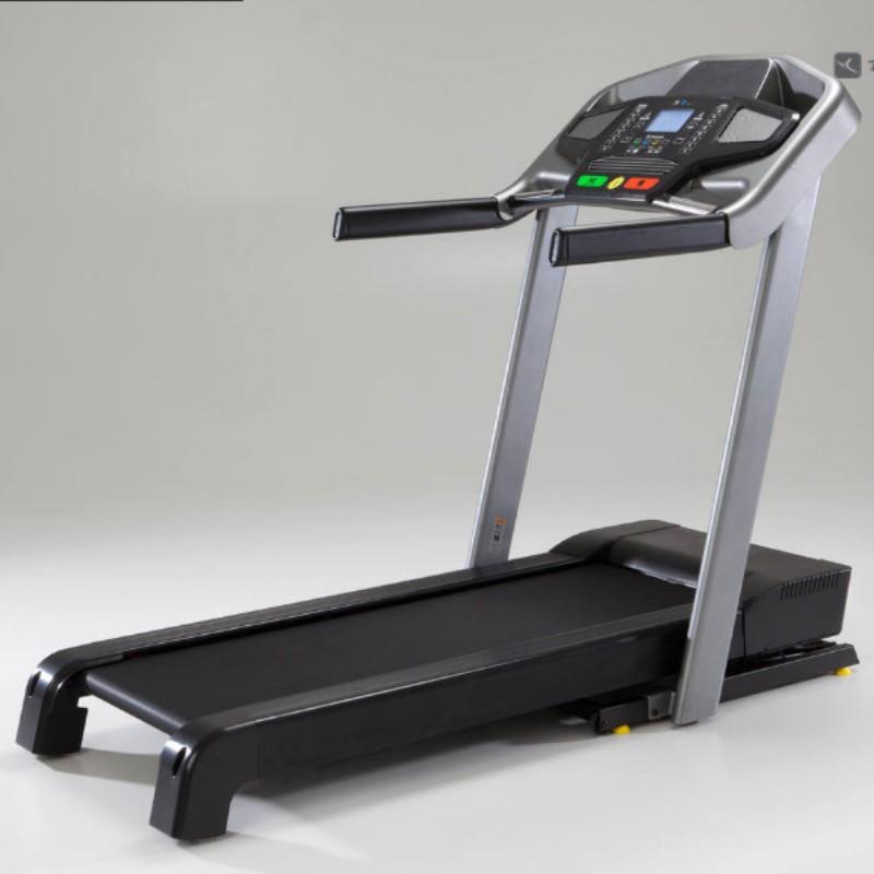 迪卡侬 T900A 多功能跑步机 使用时尺寸185*88*147cm 酷黑