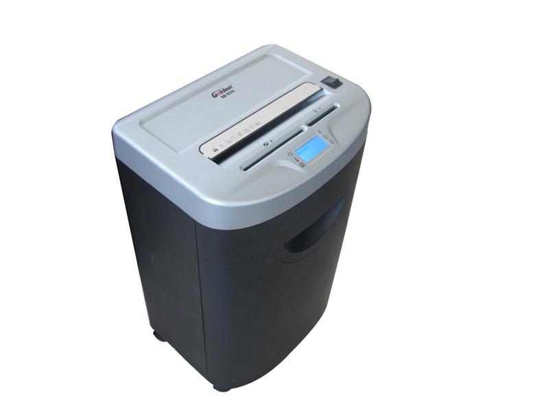 金典 GD-9315 碎纸机 (单次15张/3级保密/静音)液晶屏三入口