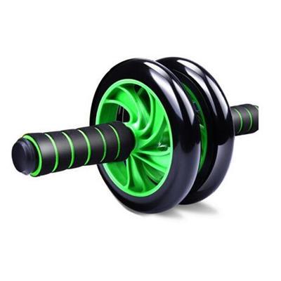 凯速 PR41 静音健腹轮 双轮 绿黑色 带跪垫