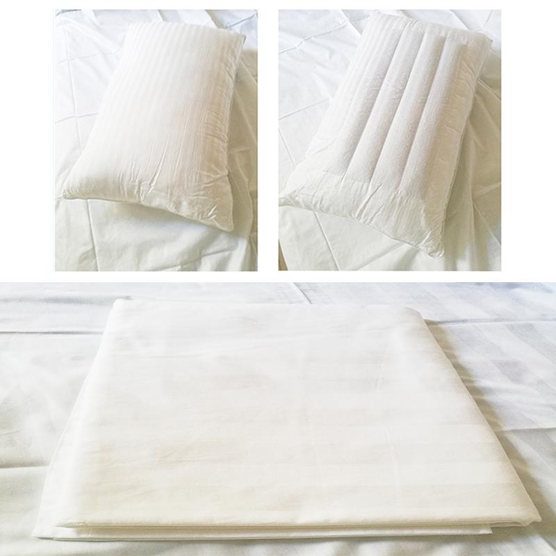 思侬 三件套 白色 床单270*280cm  枕芯48*74cm  枕套48*74cm 计价单位:套